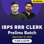 IBPS RRB CLERK PRELIMS ONLINE COACHING | BILINGUAL LIVE CLASSES