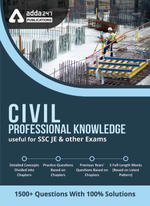 SSC JE Civil Professional Knowledge eBook 2021 (English Medium)