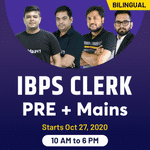 IBPS CLERK PRE+Mains Online Coaching | Special COMBO Batch | Bilingual Live Class