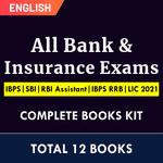 Complete Kit for All Bank & Insurance Exams | IBPS | SBI | RBI Assistant | IBPS RRB | LIC 2021 (English Printed Edition) By Adda247