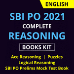Complete Reasoning Books KIT for SBI PO 2021:With Practice