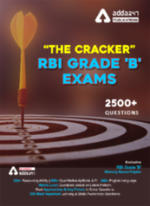 Cracker for RBI Grade 'B' Phase-I 2021 | RBI Grade 'B' Complete eBook With Important Practice Questions by Adda247