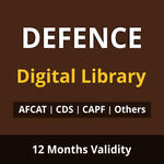 Defence Exam Digital Library E-Books for AFCAT , CDS ,CAPF ACs ,NDA ,Airmen X & Y , Sailor Entry and Others 2021