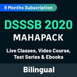 DSSSB 2020 KA MAHAPACK Live classes Video Courses Test Series