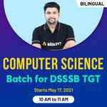 Computer Science | Batch for DSSSB TGT | BILINGUAL | LIVE CLASSES