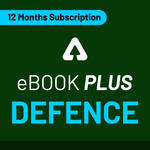 Defence eBook Plus: One Month Subscription (Validity: 12 Months)