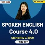 Spoken English Course 4.0 | Spoken English Online Classes 2020 | Live Class