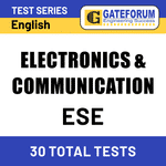 ESE Electronics & Communication 2021 Online Test Series