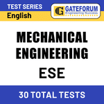 ESE Mechanical Engineering 2021 Online Test Series