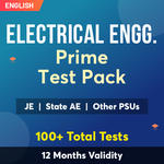 Electrical Engineering Exam Online Test Series Prime Test Pack for (PSU's & State AE/JE) and Others 2021-22