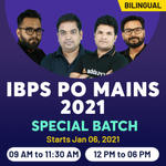 Banking Online Live Classes for IBPS PO Mains 2021 | Complete Bilingual Special Batch by Adda247