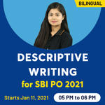 Descriptive Writing for SBI PO | Live Online Classes for Descriptive Writing for SBI PO 2021 | Complete Bilingual Classes from Adda247
