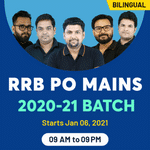 RRB PO Mains live Online Classes Combo Batch for 2020-2021 | Bilingual Classes by Adda247