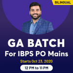 General awareness for IBPS PO Mains | Bilingual Live class