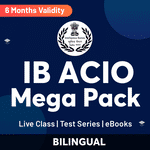 IB ACIO Study Material Online (Live Class, Test Series, eBooks) Coaching Classes 2021 | Complete Bilingual Mega Pack by Adda247