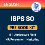 IBPS SO ( IT, Agriculture Field, HR/Personnel, Marketing ) Officer Prelims 2020 Books Kit English Printed Edition