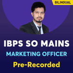 IBPS SO MARKETING Officer Online Coaching | Bilingual Pre-Recorded Videos