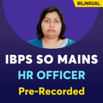 IBPS SO HR Officer Online Classes | Bilingual Pre-Recorded Videos