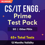CS & IT Engineering Exam Online Test Series Prime Test Pack for (PSU's & State AE/JE) and Others 2021-22