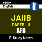 JAIIB Paper-II AFB 2020 eBooks English Medium