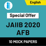JAIIB Paper II (AFB) 2020 Online Mock Test Series special offer (1200+ Questions)