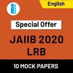 JAIIB Paper III (LRB) 2020 Online Mock Test Series special offer (1200+ Questions)