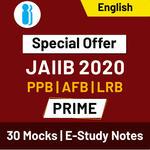 JAIIB Paper I, II & III Prime 2020 Online Test Series Special Offer