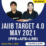 JAIIB Target Batch 4.0 May 2021 (PPB+AFB+LRB) | Live Classes | Bilingual