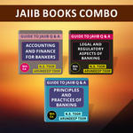 Combo Set for JAIIB Books: for Accounts, LRB, PPB For Bankers in English Medium 16th Edition by (N.S Toor)