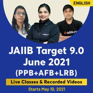 JAIIB Target 9.0 (PPB, AFB, LRB)   Bilingual   Live Classes By Adda247