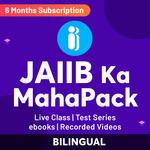 JAIIB KA Maha Pack (Validity: 6 Months)