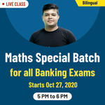 Maths Special Batch | Maths Online Classes for Banking Exams | Bilingual Live class