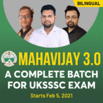 MAHAVIJAY 3.0 | COMPLETE BATCH FOR UTTARAKHAND SSSC EXAM (UKSSSC) | Live Classes