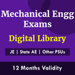 Mechanical Engineering Exam Digital Library eBooks for (PSU's & State AE/JE) and Others 2021-22