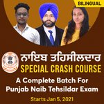 Punjab NAIB Online Coaching Classes for Tehsildar Exam | Complete Special Crash Course Batch By Adda247