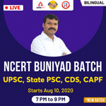 NCERT Live Online Classes For UPSC, State PSC, CDS, CAPF | Buniyad Batch