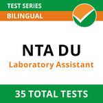 NTA Delhi University Laboratory Assistant 2021 Online Test Series