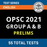 OPSC Group A & Group B Prelims Online Test Series