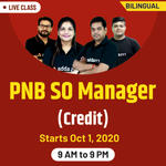 PNB SO Manager Online Live Classes (Credit) | Bilingual Batch by Adda247