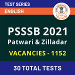 PSSSB Punjab Patwari Mock Test | Ziledar Mock Test 2021 | Online Test Series for PSSSB Patwari & Ziladar Exam 2021