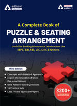 A Complete eBook of Puzzles & Seating Arrangement (Third English Edition)