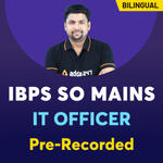 IBPS SO IT Officer Online Coaching | Bilingual Pre recorded Videos