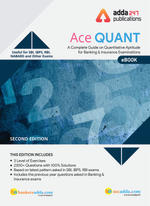 Ace Quantitative Aptitude For Banking and Insurance (English E-Book)