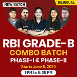 RBI GRADE B COMBO BATCH Phase I and Phase II Bilingual New Live Classes