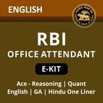RBI Office Attendant eBook Kit 2021 (English Medium)