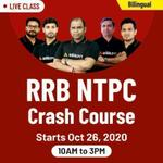 RRB NTPC CRASH COURSE 2020 | BILINGUAL LIVE CLASS