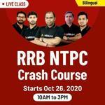 RRB NTPC CRASH COURSE 2020 | BILINGUAL LIVE CLASS