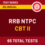 RRB NTPC CBT II Online Test Series: RRB NTPC CBT 2 2020-21 Mock Tests
