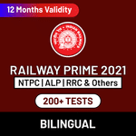 Railway Exam Online Test Series Prime for RRB NTPC, RRB Group D, RRB JE & Others 2021
