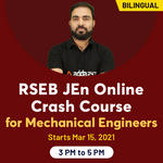 RSEB JEn Online Crash Course for Mechanical Engineers | Bilingual Live Classes by Adda247